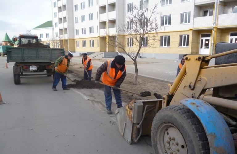 Дорожники приступили к ремонту асфальтового покрытия