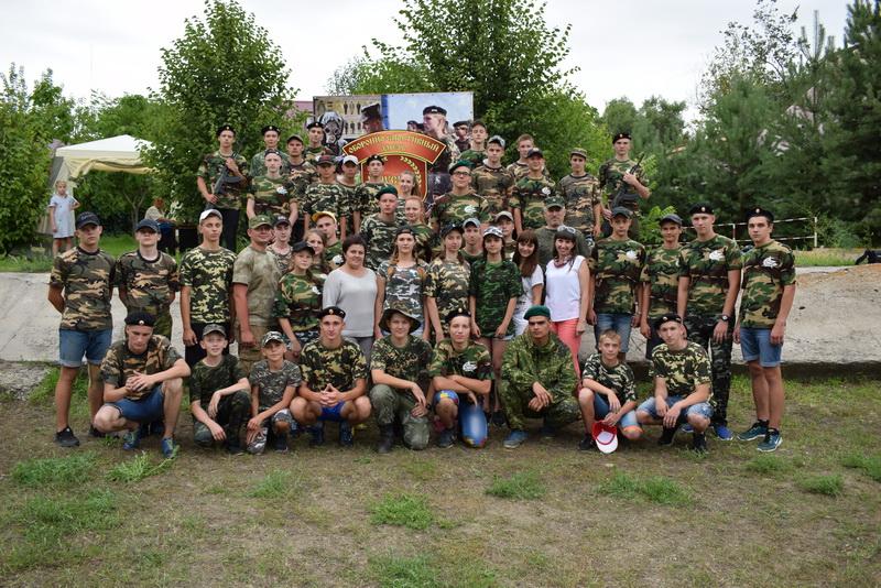 Армейские будни юных россошанцев