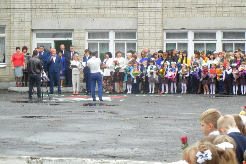 Руководители города в День знаний посетили 4-й лицей