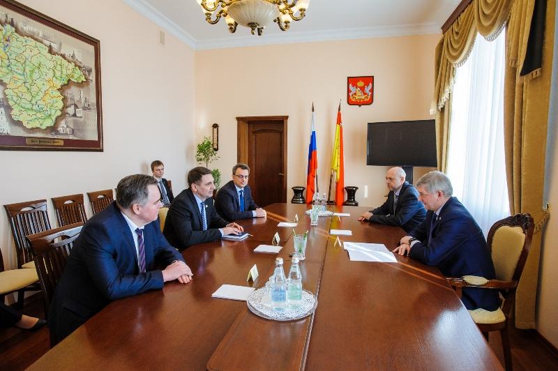 Встреча Александра Гусева с Андреем Марковым