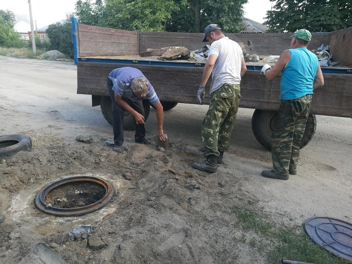 ООО «РКС» провел работы по восстановлению оголовков колодцев канализационных коллекторов