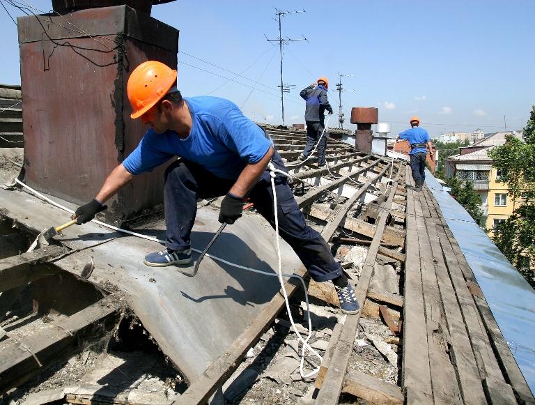 Крыши и фасад домов отремонтируют раньше срока