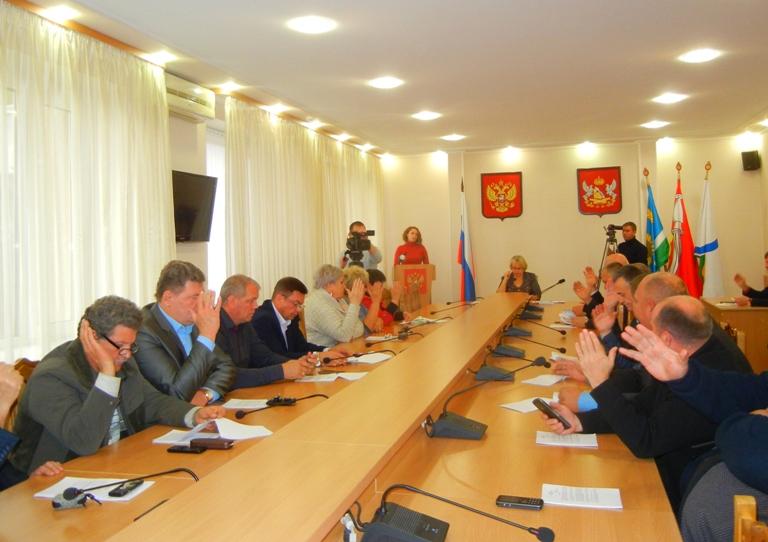 На сессии городского Совета