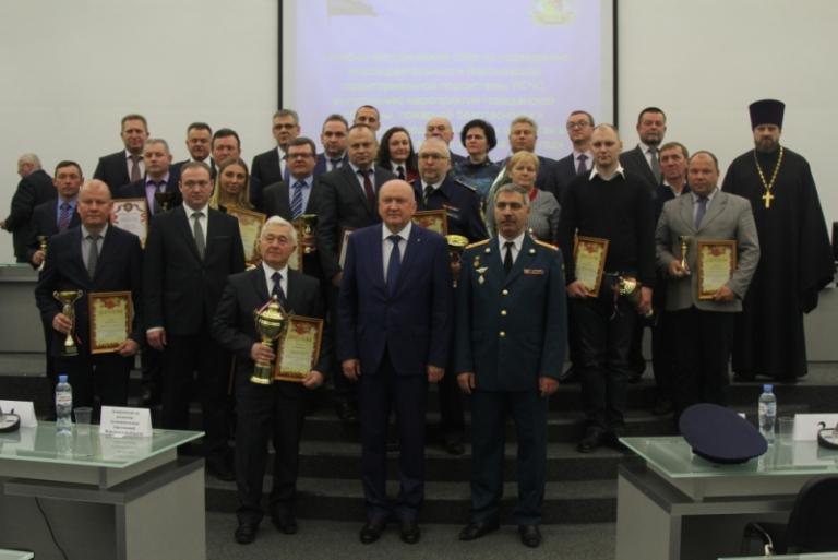 Администрации города вручено несколько наград в области гражданской обороны